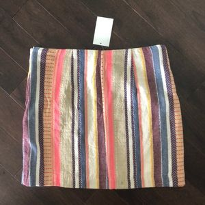 Multicolored skirt NWT